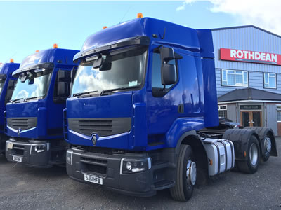 Truck / Trailer / Plant Sales from Rothdean Limited