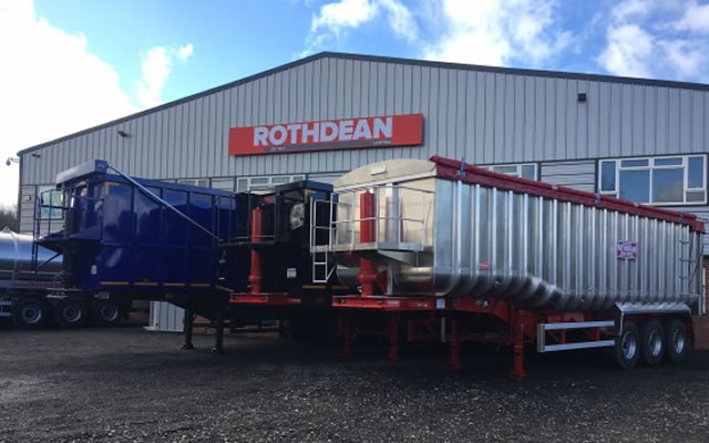 Trailers for trucks from Rothdean UK