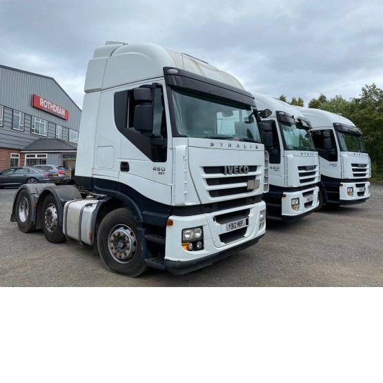 2012 IVECO STRALIS 450 in 6x2 Tractor Units
