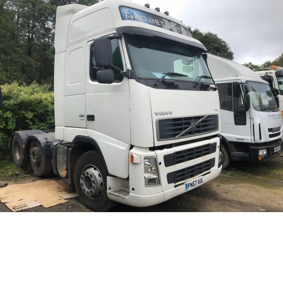2007 VOLVO FH480 GLOBETROTTER XL in 6x2 Tractor Units