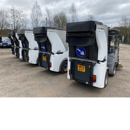2015 HAKO CITYMASTER 600 in Compact Sweepers