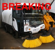 2006 JOHNSTON COMPACT 50 ROAD SWEEPER