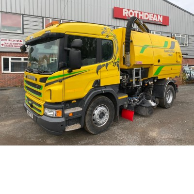 2014 SCANIA P250 SWEEPER
